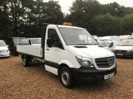 MERCEDES BENZ SPRINTER 313 CDI XLWB 14FT 4IN DROPSIDE 6 SPEED **ALLOY BODY!!! - 1097 - 3